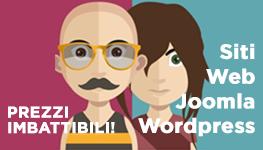 Siti Web Joomla Wordpress